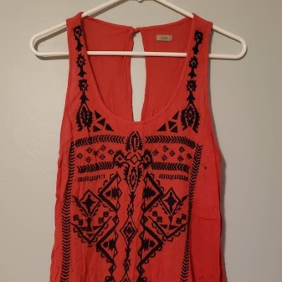 Urban Outfitters Tops - Urban Outfitters Red Tank Top with Open Back